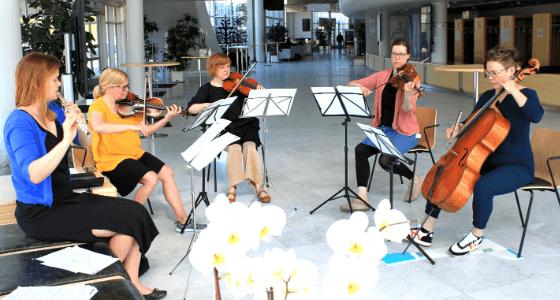 Oulu Sinfonian muusikoita