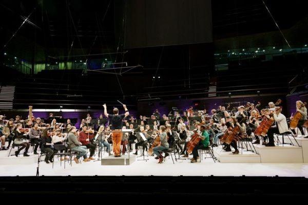 Sibelius-Akatemian sinfoniaorkesteri kuva Maija Astikainen